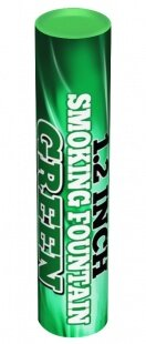 Дым зеленый 60 сек. h -170 мм, 1шт