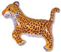 Шар (36''/91 см) Фигура, Леопард, Черные пятна, 1 шт.