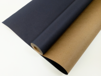 Упаковочная бумага, Крафт 70гр (0,7*10 м) Экошик, Темно-синий, 1 шт.