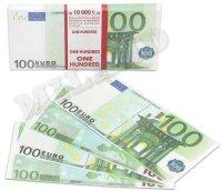 Деньги для выкупа, 100 Евро, 16*7 см, 98 шт.