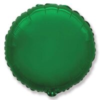Шар (18''/46 см) Круг, Зеленый, 1 шт.