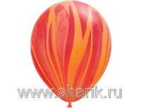 "Q 11"" Супер Агат Red Orange"