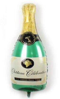 Шар (39''/99 см) Фигура, Бутылка, Шампанское вино, 1 шт.