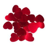 Конфетти Сердце, Красный, 1,2 см, 17 гр.
