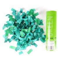 AC 20см Пневмохлопушка Зеленое конфетти