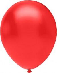 Шар (10''/25 см) Красный (803), пастель, 100 шт.