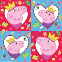 Салфетки Свинка Пеппа, 33*33см, 20шт.,ТМ Peppa Pig