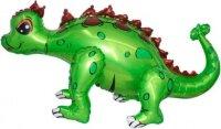 Шар (29''/74 см) Ходячая Фигура, Динозавр Анкилозавр, Зеленый, 1 шт. в упак.