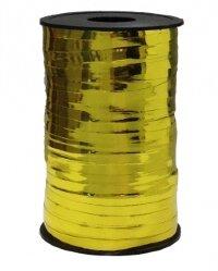 Лента (0,5 см*250 м) Золото, Металлик, 1 шт.