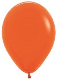 Шар (12''/30 см) Оранжевый (061), пастель, 12 шт.