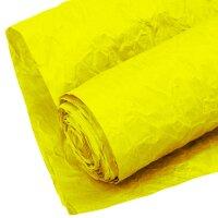 Упаковочная жатая бумага (0,7*5 м) Эколюкс, Ярко-желтый, 1 шт.