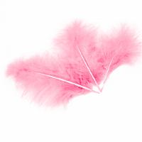 Перья Розовые, 13-15 см, 30 шт.