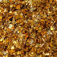 Конфетти фольга Блестки, Золото, Голография, 20 гр.