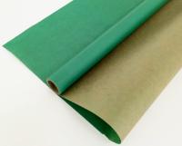 Упаковочная бумага, Крафт (0,7*10 м) Зеленый травяной, 1 шт.