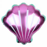 Шар (20''/51 см) Фигура, Морская ракушка, Розовый, 1 шт.