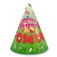 Колпаки, День Рождения (торт), 6 шт.