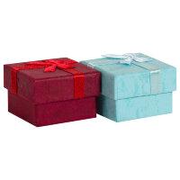 Коробка подарочная, Ласка, 4*4*3см, 1шт.