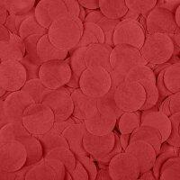 Конфетти тишью Круг, Красный, 2,5 см, 50 гр.