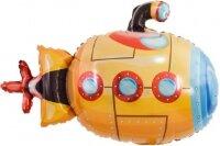 Шар (38''/97 см) Фигура, Подводная лодка, Оранжевый, 1 шт.
