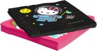 Салфетки, Hello Kitty, С Днем Рождения!, 33*33 см, 20 шт.