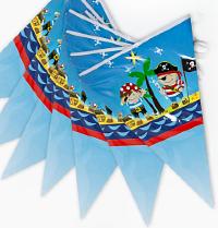 Гирлянда Флажки, Пираты, 300 см