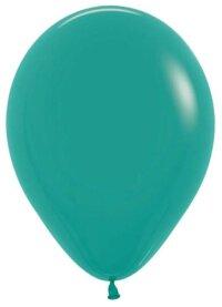 Шар (10''/25 см) Зеленая бирюза (036), пастель, 100 шт.
