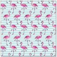Упаковочная бумага (0,7*1 м) Фламинго, 2 шт.