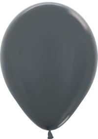 Шар (12''/30 см) Графит (578), металлик, 12 шт.