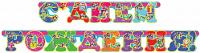 Гирлянда - буквы С Днем Рождения! (будильник), 200 см