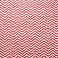 Упаковочная бумага, Крафт 70гр (0,5*10 м) Зигзаги, Красный, 1 шт.
