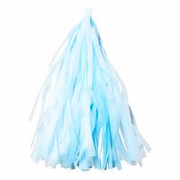 Гирлянда Тассел, Светло-голубой, 35*12 см, 12 листов.