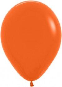 Шар (12''/30 см) Оранжевый (061), пастель, 50 шт.