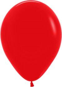 Шар (12''/30 см) Красный (015), пастель, 50 шт.