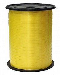 Лента (0,5 см*250 м) Желтый, 1 шт.