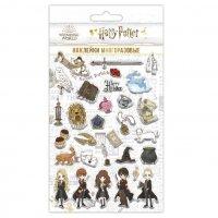 Наклейки объемные Гарри Поттер, Чиби, набор №4, 11*20 см, 1 шт.