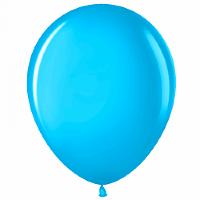 Шар (10''/25 см) Голубой (450), пастель, 100 шт.