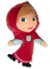 Шар (14''/36 см) Мини-фигура, Красная шапочка, 1 шт.