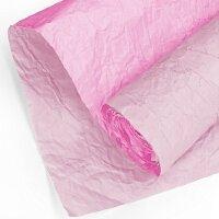 Упаковочная бумага (0,7*5 м) Эколюкс, Пыльная роза/Розовый, 1 шт.