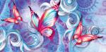 Конверты для денег, Полет бабочек, 1 шт