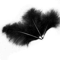 Перья Черные, 13-15 см, 30 шт.