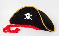 Шляпа Треуголка, Пират, большая