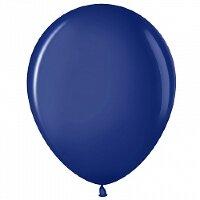 Шар (12''/30 см) Темно-синий (452), пастель, 100 шт.