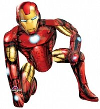 Шар (44''/112 см) Ходячая Фигура, Мстители, Железный человек, 1 шт. в упак.