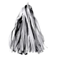 Гирлянда Тассел, Серебро, 35*12 см, 12 листов