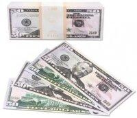 Деньги для выкупа, 50 Долларов, 16*7 см, 98 шт.