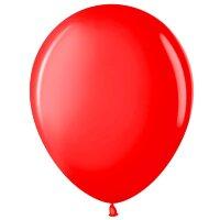 Шар (12''/30 см) Красный (230), пастель, 100 шт.