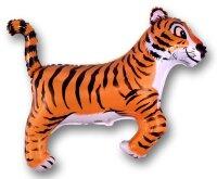 Шар (36''/91 см) Фигура, Тигр, Черные полоски, 1 шт.