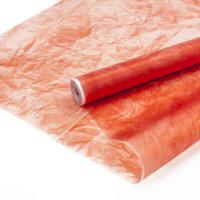 Упаковочная матовая пленка (0,6*7,5 м) Эколюкс, Красный, 1 шт.