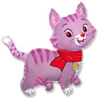 Шар (32''/81 см) Фигура, Любимый котенок, Фуше, 1 шт.