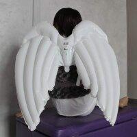 Шар-Крылья (36''/91 см) Ангел, Белый, 1 шт.